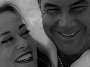 Donna Anderson Cortes and Tony Cortes