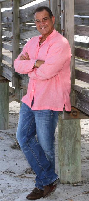 Tony Cortes on the Beach