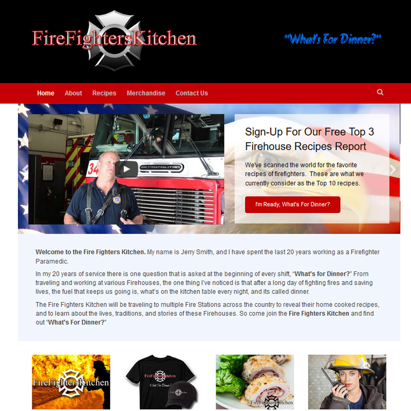 THE FIREFIGHTERS KITCHEN