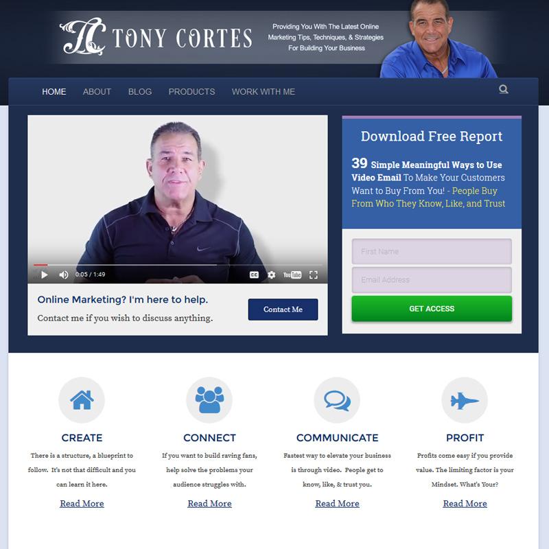 Tony Cortes blog