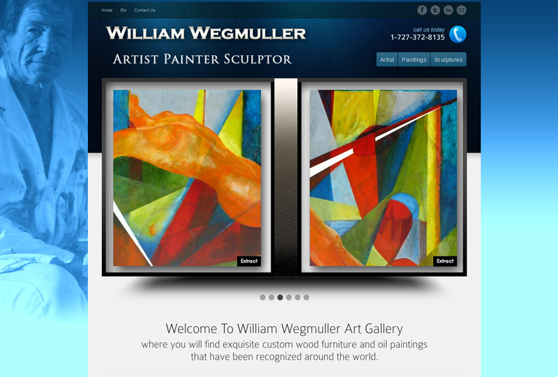 William Wegmuller Art